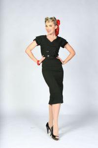 Secretary pencil dress