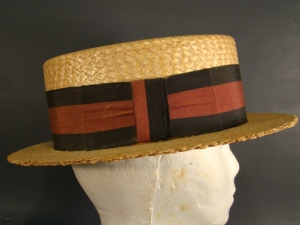 A vintage straw boater from my neck of the woods 414c5c7b35e9