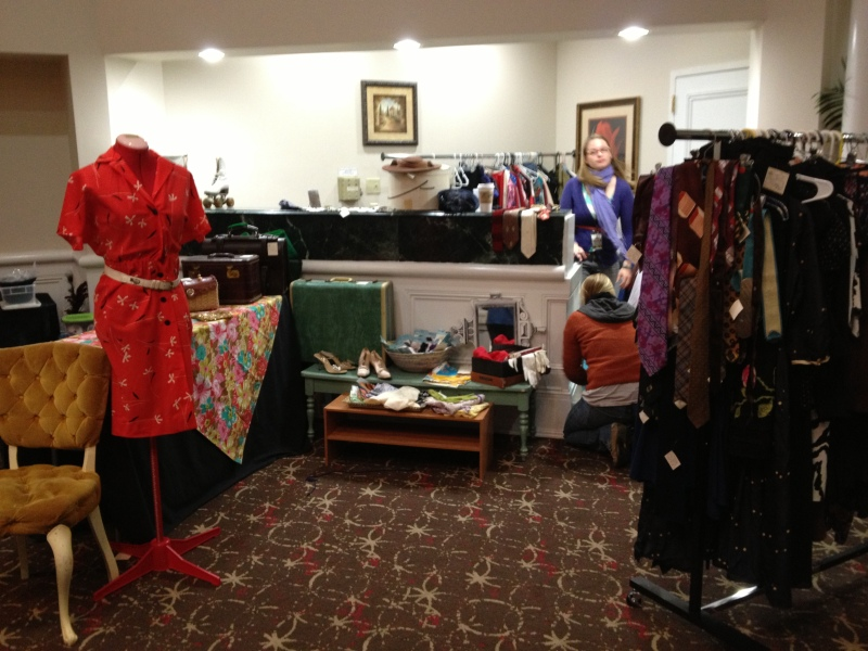 Wide view of the Lindy Focus consignment shop