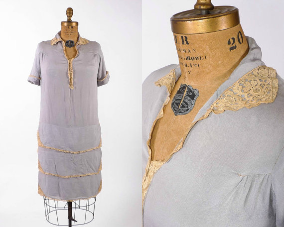 This beyond sweet 1920's dress...