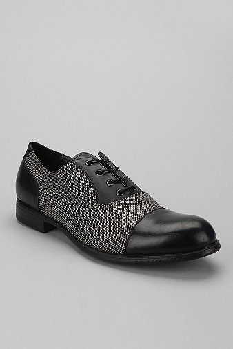 Men's Ben Sherman tweed and leather cap toe of awesomeness