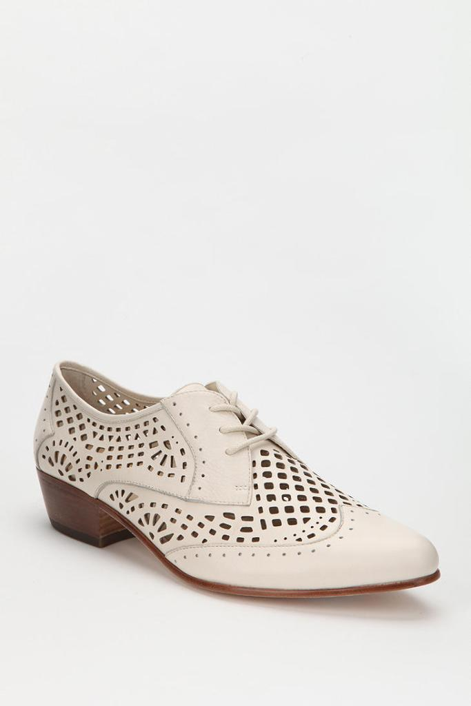 Women's Dolce Vita Orina Cutout Leather Oxford  - the cutouts are so dreamy and I love the low heel!