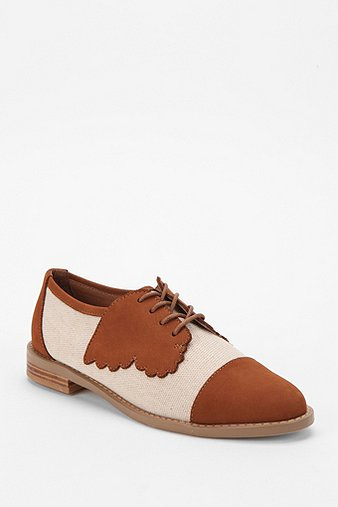 Women's F-Troupe Butterfly Oxford - just...adorable.  I am sad the sole is rubber, but sueding is always an option, no?