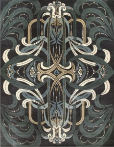 Rhapsody Rug by Catherine Martin