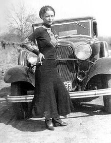 Bonnie Parker wants to know where the hell her trumpet skirts are, it's time for a new one.