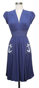 Anchor dress...this one is calling my name...