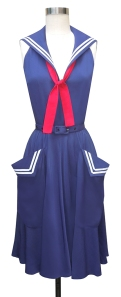 Sailor dress with giant pockets!