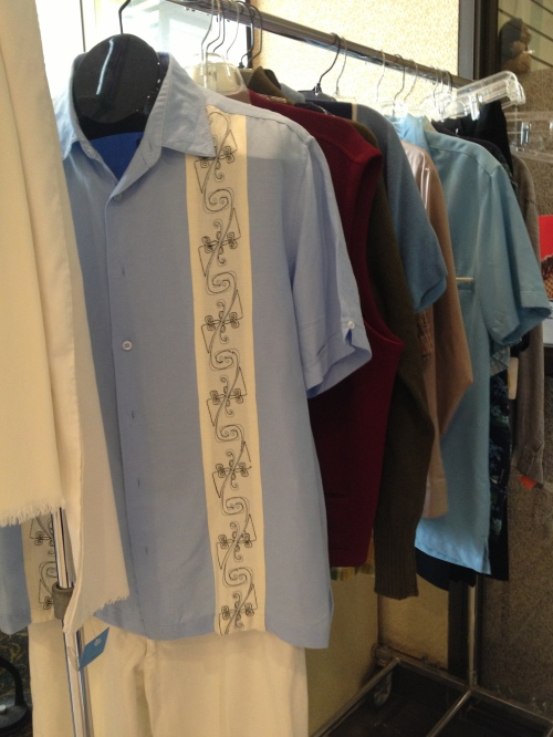 Select menswear items from The Cleveland Shop