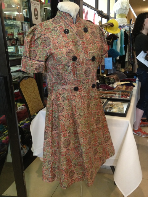 Cool cotton print dress from The Cleveland Shop