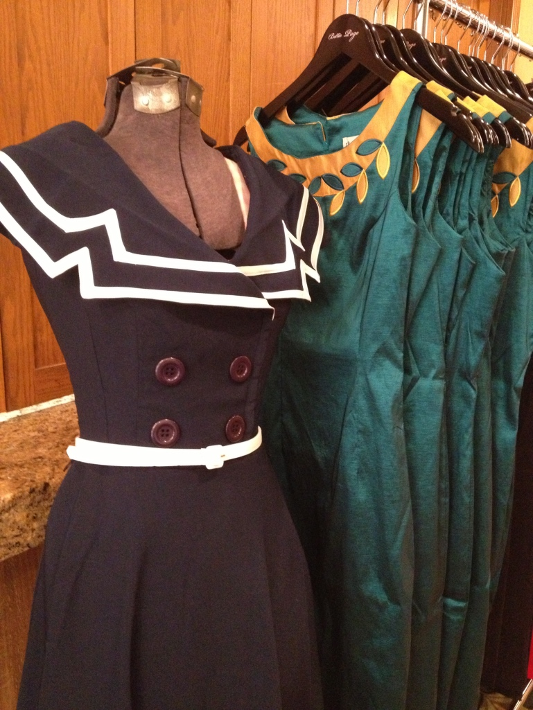 Lovely dresses from Bettie Page Clothing