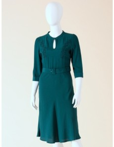 "Laura Keat's dress, the ""Savoy Ballroom Kleid"" - Laura has it in red, but I love the teal.  I CAN HAZ?"