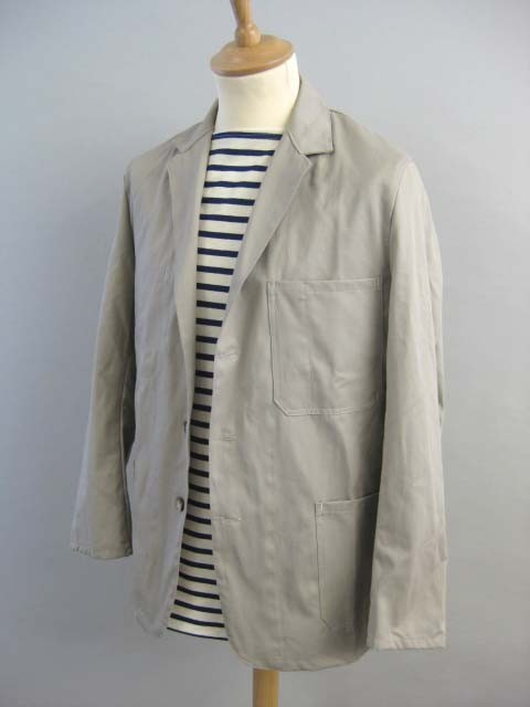 Cotton Work Jacket - a nice summer weight jacket option