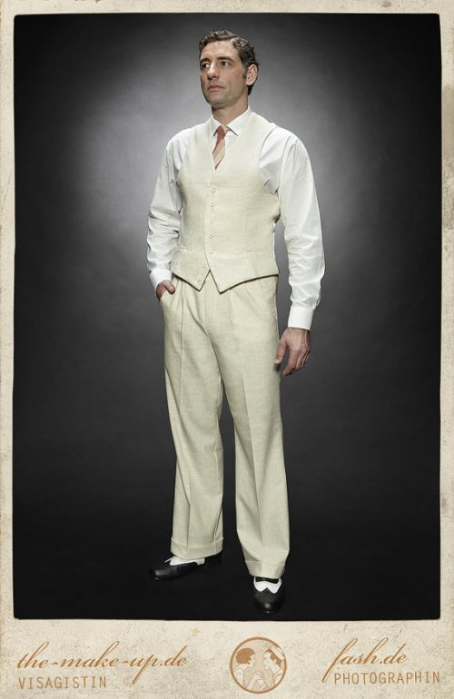 Casablanca linen vest and pants