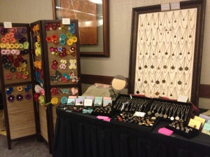 Part of Chatterblossom's vendor area