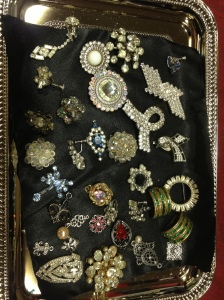 A box of jewels, which can become the basis for a Creation by Crawford.