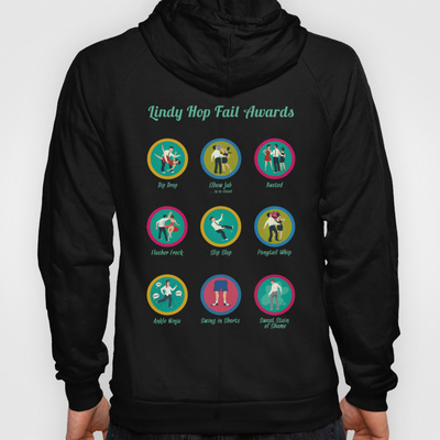 Wear your merit badges proudly on this hoodie