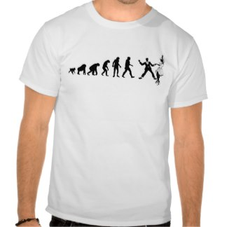 Evolutionary theory of Lindy Hop - at Zazzle.com