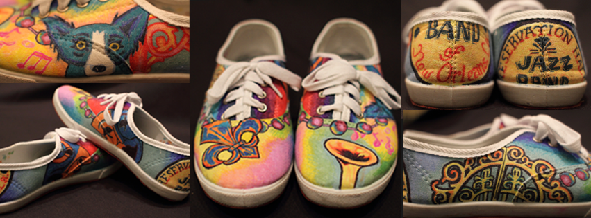 A New Orleans-inspired pair of Keds.