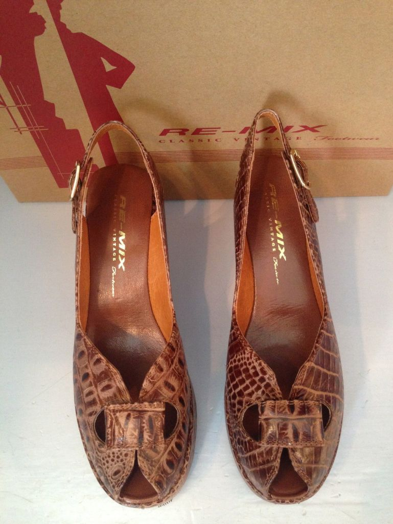 Re-mix Patio wedge, size 11, $91.00