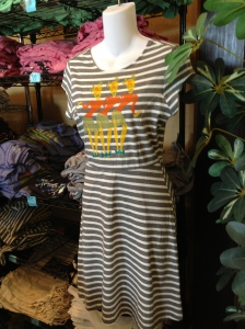 Lots of new merch at ABW this year, including this comfy dress.