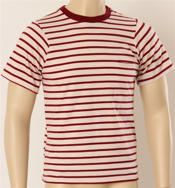 Because dudes need this classic stripe tee shirt X 3 to make it through a dance