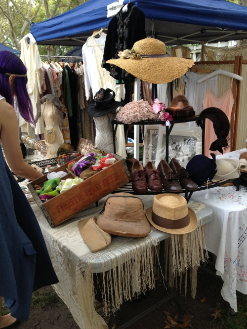 A lovely array of accessories at Wildfelll Hall Vintage