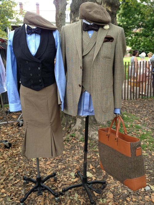 Hers and his, at the Prohibition Clothing Company