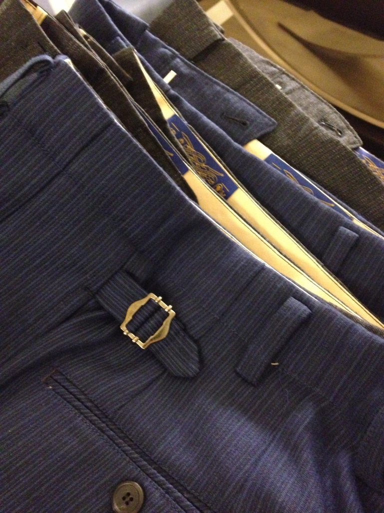 Trouser detail at FROMChloeHong