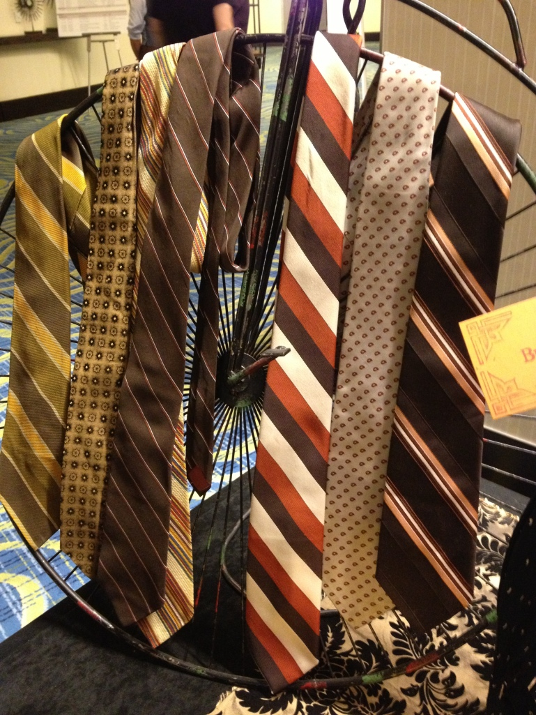 A selection of A Whoopie! ties