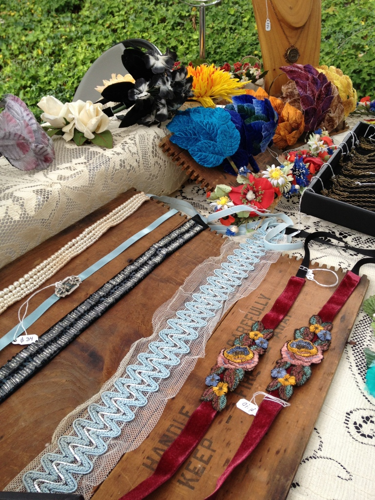Assorted flapper headbands from Chatterblossom