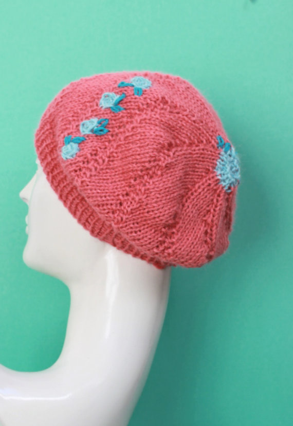 I could see a great 30's look be inspired by this beanie/beret