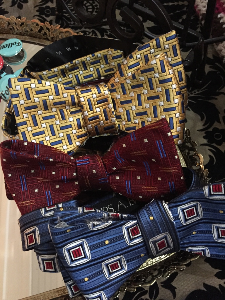 A selection of bow ties at Forties Forward.