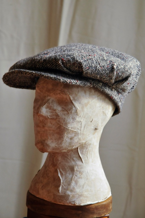 The Aviate - 1920's reproduction one piece 8 plaited cap