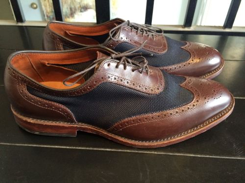 "The modern version - Allen Edmonds ""Strawfut"" in size 9."