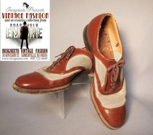 This size 8 pair was on Boardwalk Empire.