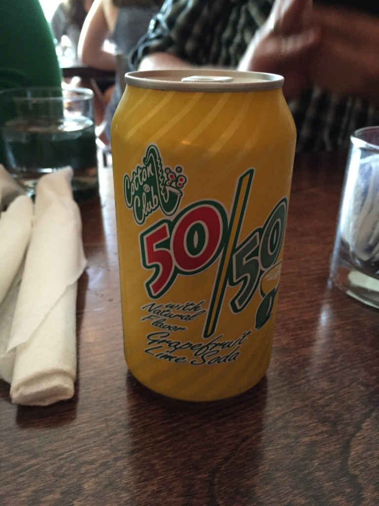 Who knew the Cotton Club had a soda?  At Jack Flaps.