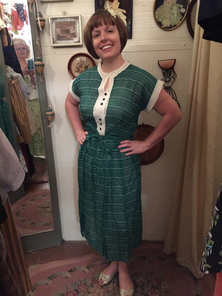Another 40's number in cotton from Sweet Lorain