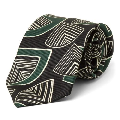 Deco Fans Silk Tie