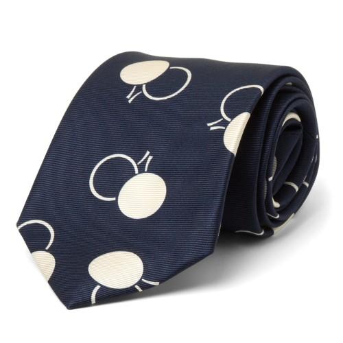 Deco Dot Silk Tie