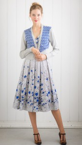 Verity_cardi_in_electric_blue_with_grace_dress_in_etching