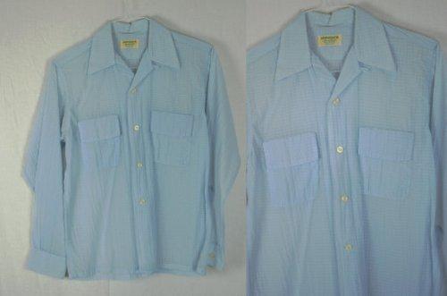 1950's seersucker shirt