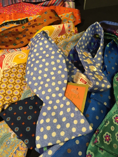 Pick up a quintessential bow tie from Celania Custom Clothing.